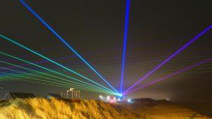 Lasershow Wenningstedt auf Sylt