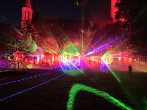 Lasershow bei der Night of Light